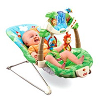 Example of infant bouncer seat